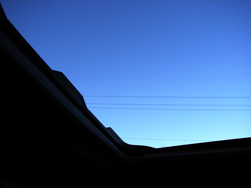 blue sky canada up wire bc britishcolumbia utility drivethru drivethrough sunroof electricwires princegeorge project3661