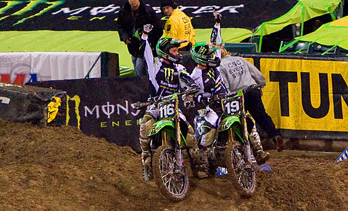 Weimer and Morais celebrate