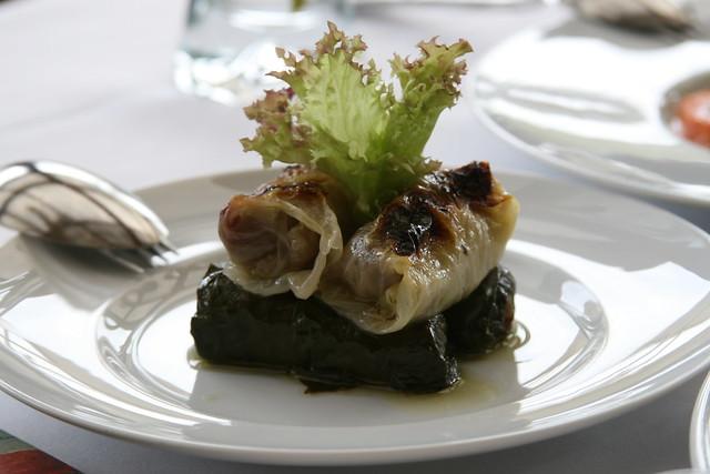 Chard and Cabbage Dolma @ Borsa