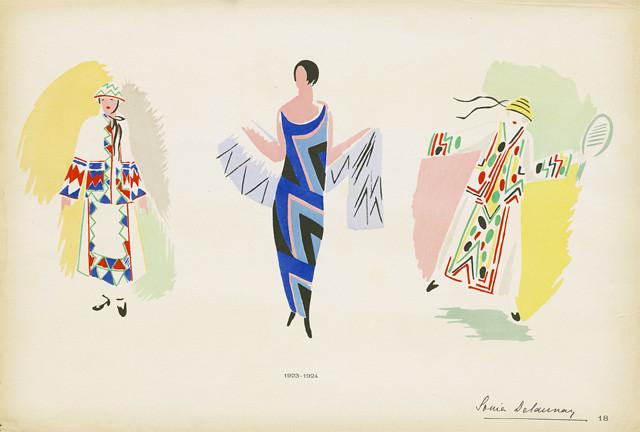 Sonia Delaunay Fashion Illustration Reference Code Us