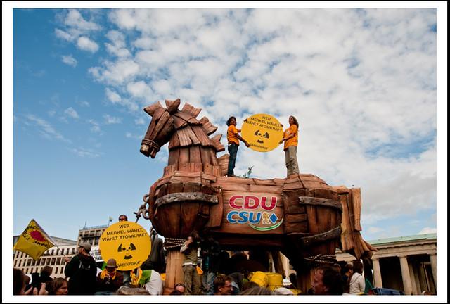 das Trojanische Pferd in Berlin