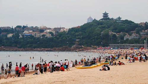 the beach at qingdao | by hopemeng