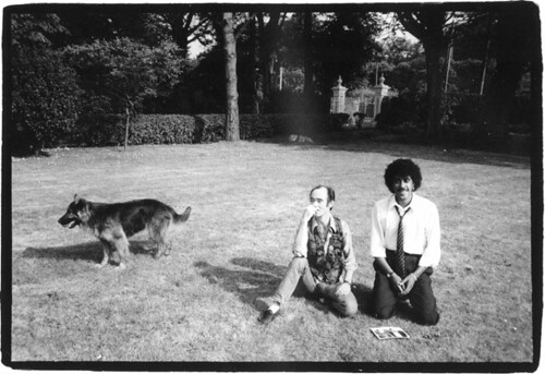 BP Fallon & Phil Lynott by Caroline Lynott, Howth 1982