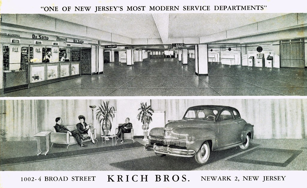 Car Dealerships In Newark Nj >> Krich Bros Desoto Plymouth Newark Nj Either This Was A