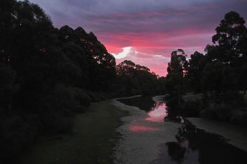 sunset river landscape dusk sigma sd10