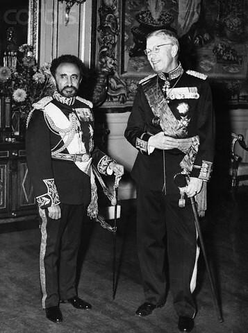 Emperor Haile Selassie I of Ethiopia and King Gustaf Adolf…   Flickr