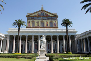 Basilica of Saint Paul Outside the Walls   by Rome Cabs