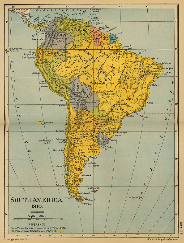 50 Mapa antiguo América del Sur (South America old map) | Flickr