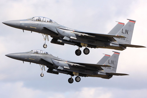 F15 Eagles - RAF Lakenheath July 2009 | by Airwolfhound
