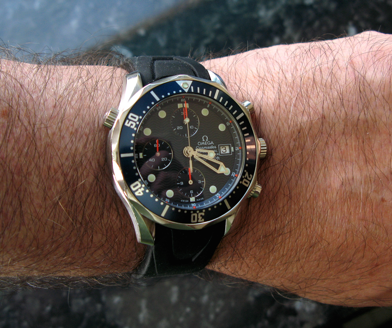 smp chrono rubber front