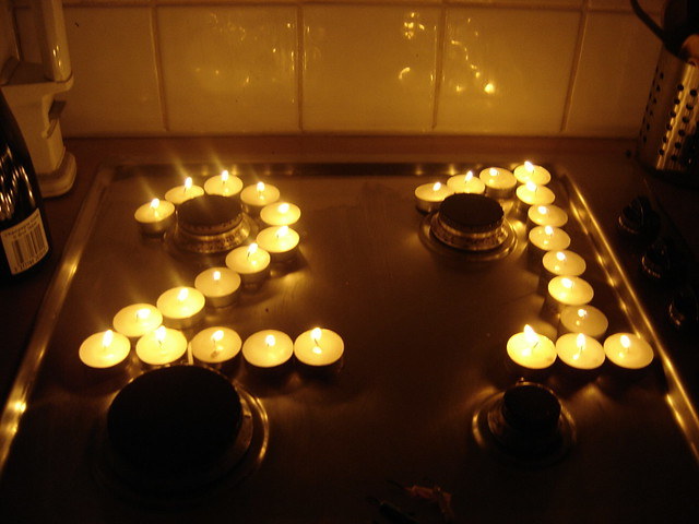 Raspberry Beret 21st Birthday Candles 2005