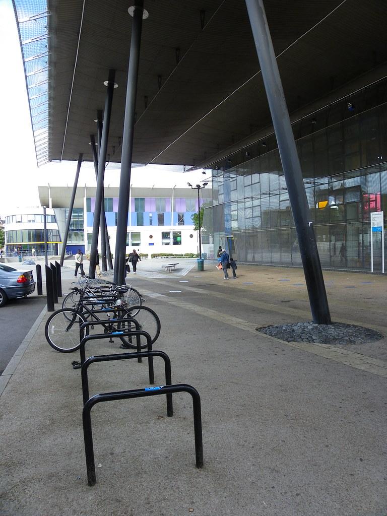 Bicycle racks | Peckham Library, London | Ellen Forsyth ...