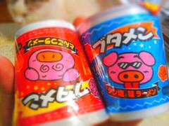 ブタメン とんこつラーメン, タン塩味ラーメン | by jetalone