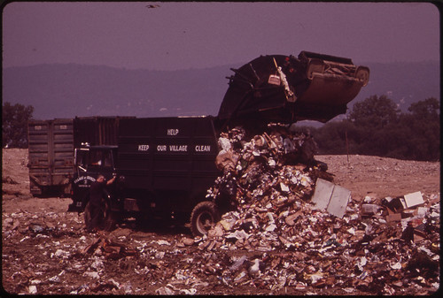 Dumping Garbage at the Croton Landfill Operation 08/1973 | by The U.S. National Archives