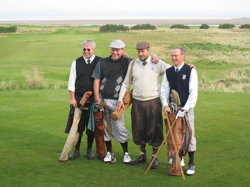 LAGK & Society of Lund Hickory Golfers Pro Am-lag:  Stefan Mossberg, Anders Werneman, Klas Ohlsson och Bo Pettersson.