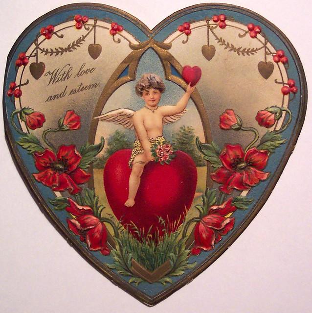 Vintage Valentine\u0027s Day Card