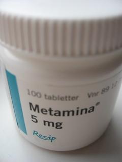 Metamina  5 Mg. Burk