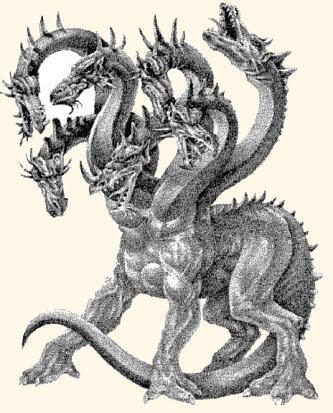 Dragon greek mythology   This picture show the dragon greek
