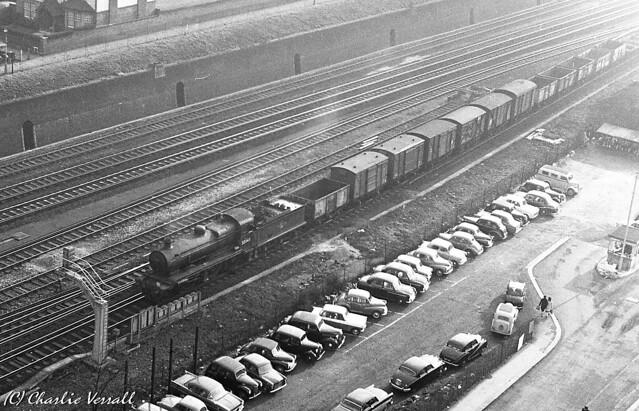 32343 East Croydon 0852 Freight Three Bridges to Norwood 2 Feb 1962