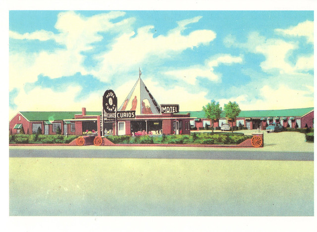 Route 66 Motel Conway Postcard