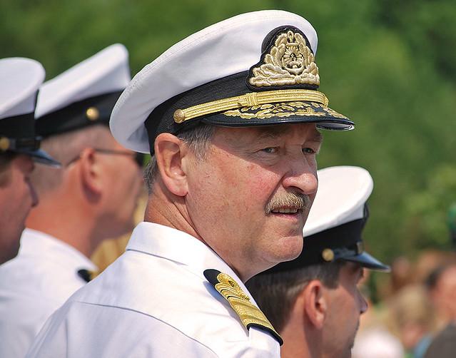 Latvian NAVY Admiral Gaidis Zeibots | Aigars Prūsis | Flickr