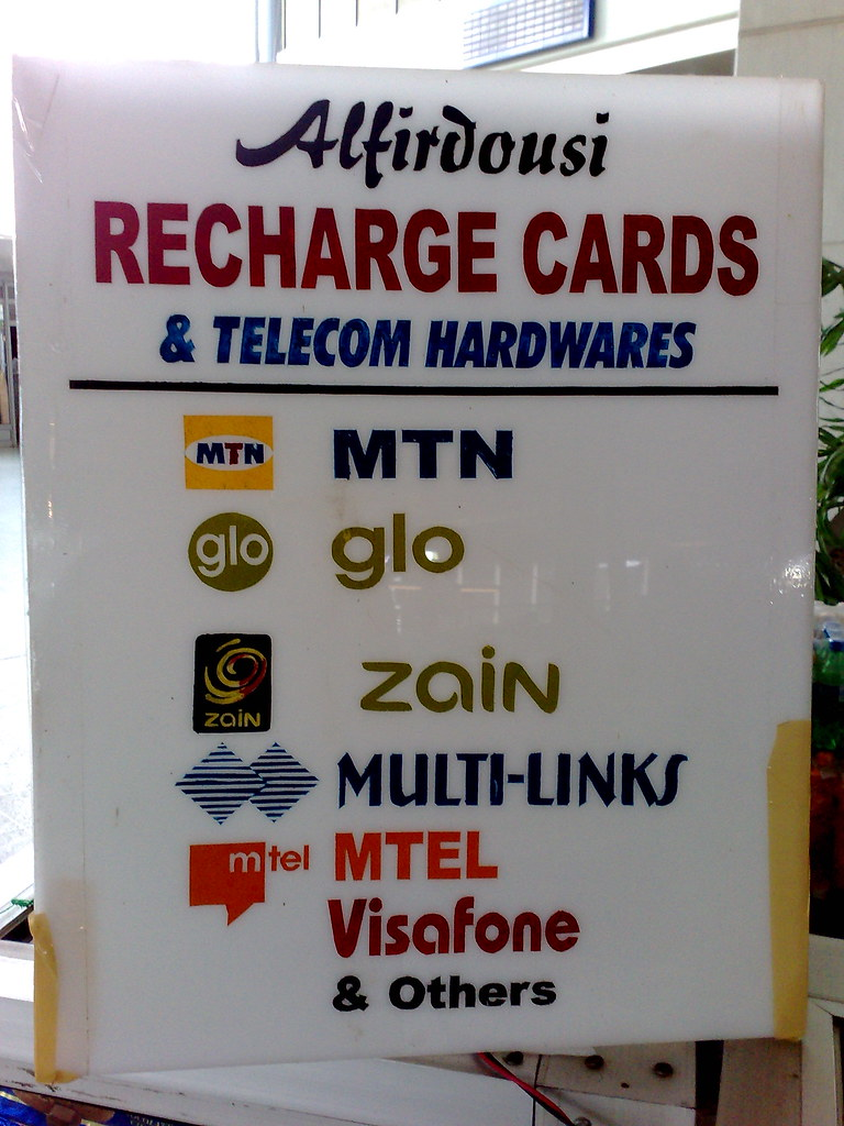 Mobile Phone Recharge Cards for Sale in Abuja Airport | Flickr