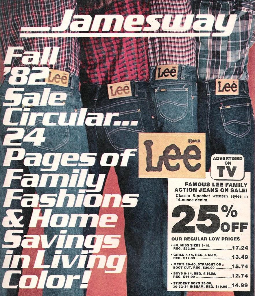 b1f6aecbc7b Jamesway Fall 1982 | Do they still make Lee jeans? I liked t… | Flickr