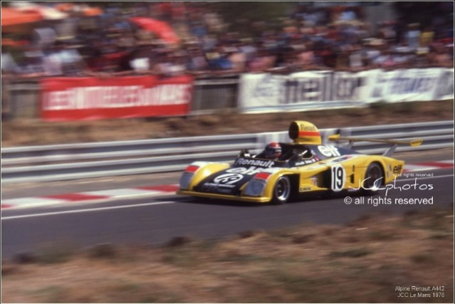 24 Heures du Mans 1976 Alpine Renault A442
