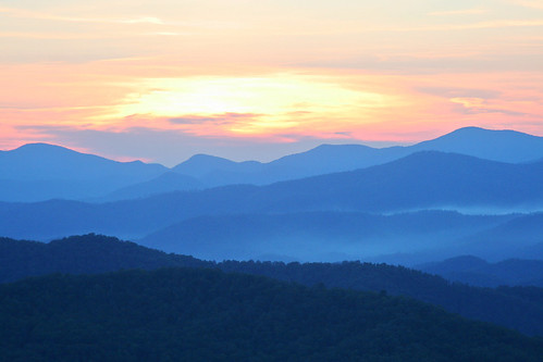 statepark sunset georgia landscape photo blackrockmountain