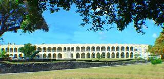 The Stone Barracks-St Ann's Fort,the Garrison, Barbados