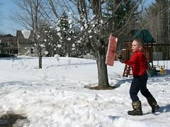 Spreading the Snow