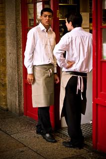 Ponti's Waiters | by garryknight