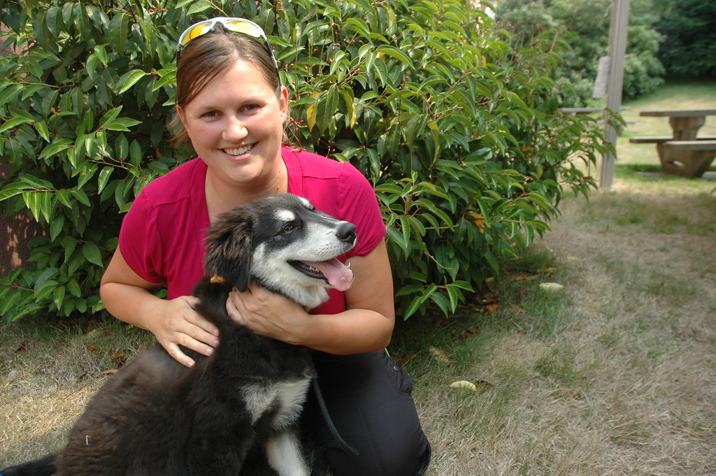 A new puppy | Deanna Stelting (Finance) and her new pup, who