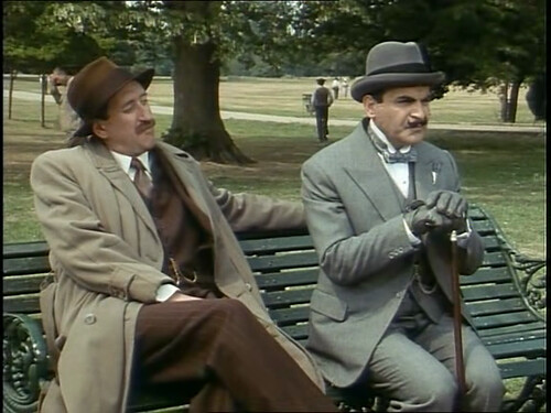 Poirot in The Veiled Lady (1990)