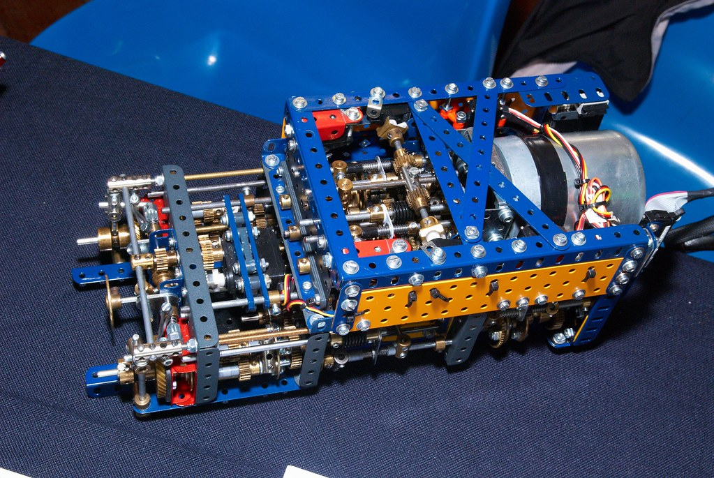 Meccano Grove TM9120 DSG Gearbox with 9 forward and 2 reve… | Flickr