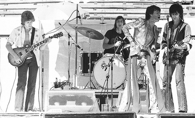 The Rolling Stones at Kooyong 1973