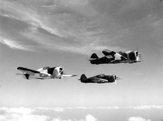 Curtiss : P-36C : Hawk