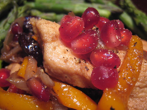 Pomegranate Pepper Cherry Chicken | by gserafini