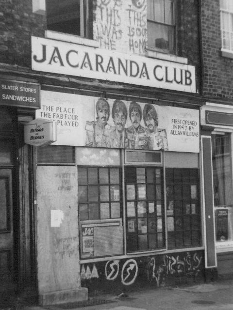 Liverpool  Jacaranda Club  1990,s