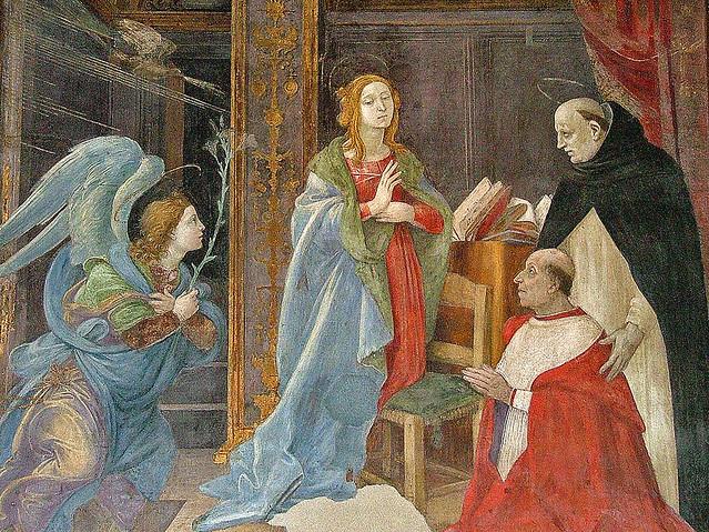 Cappella Carafa, Filippino Lippi