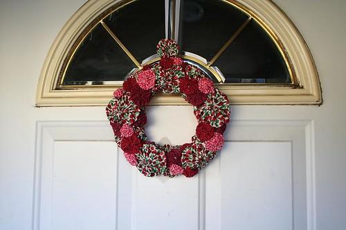 Yo yo wreath | by turning*turning
