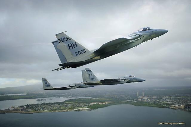 F-15 photo by John M. Dibbs