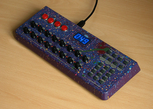 uc 16 mod customized evolution uc 16 midi controller adde flickr. Black Bedroom Furniture Sets. Home Design Ideas