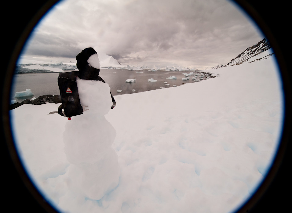 Safe Snowman