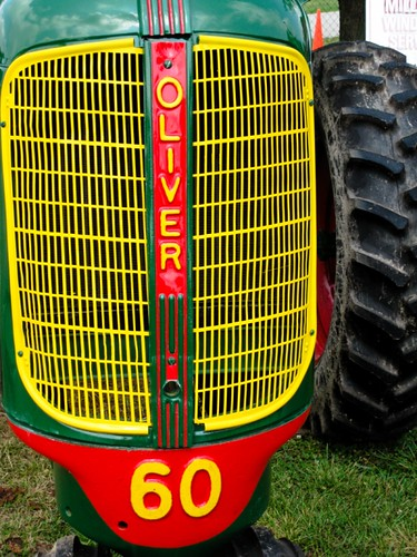 Old Oliver tractor grille | canon10dguy | Flickr