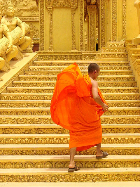 Buddhist Monk - Phnom Penh - Cambodia 02
