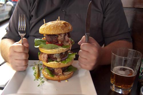 The triple burger | by Erik.N