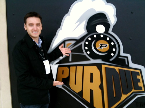 Visiting Purdue | by Frank Gruber