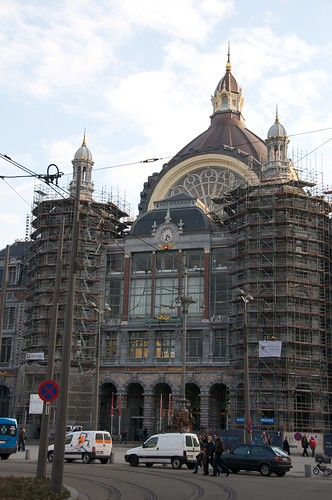 Construction work on the beautiful Antwerp train station | by 4nitsirk
