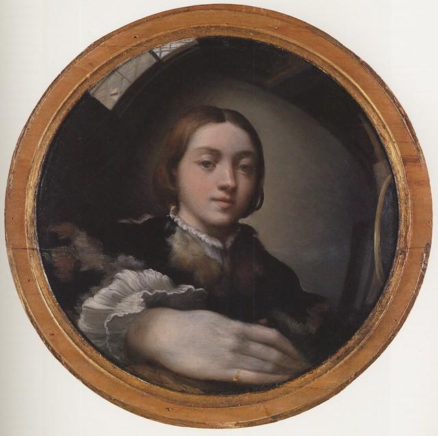 Parmigianino - Self portrait in a convex mirror 1524 - Wien KHM